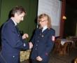 Gabriele Renner wurde zur Hauptfeuerwehrfrau befördert