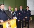Josef Willnecker wurde das bayerische Feuerwehr-Ehrenzeichen in Gold für 40